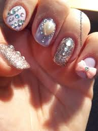 33 nail design with rhinestones this nail design was inspired by