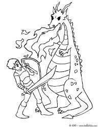 dragon warrior coloring pages hellokids