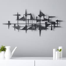 modern wall decor and wall shelves cb2