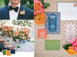 wedding color palettes we love