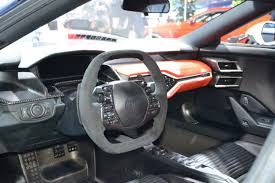 ford supercar interior this fearsomely white 2017 ford gt looks like a stormtrooper on