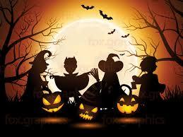 blank halloween background halloween background vector fox graphics