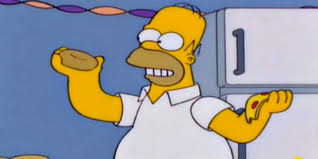 25 of homer simpson u0027s greatest food moments of all time huffpost