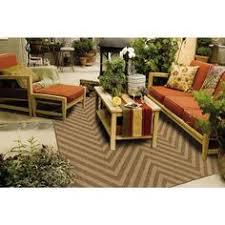 Zig Zag Outdoor Rug Meticulously Woven Chevron Indoor Outdoor Area Rug 5 3 X 7