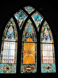 stained glass window vintage flooring u0026 furniture historic finds