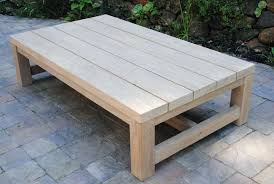 outdoor wood coffee table outside side table outdoor stool or side table from reclaimed wood
