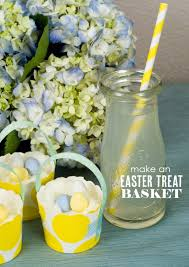 easter table favors one charming party birthday party ideas mini easter basket favors