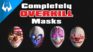 where to buy masks payday 2 completely overkill masks