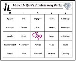 wedding words for bingo custom bridal shower bingo wedding words 30 60