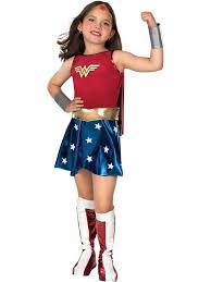 deluxe wonder woman kids costume justice league girls costumes