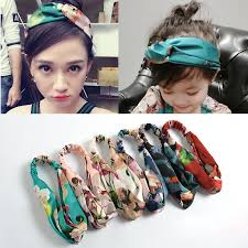 fabric headbands headbands women hair accesorries girl band floral print silk