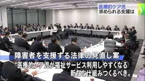 canap駸 d angle but 全国医療的ケア児者支援協議会 山が動いた 医療的ケア児の支援強化