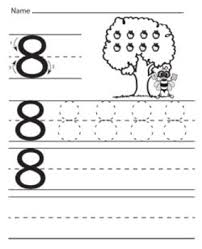 numbers tracing worksheets kindergarten preschool printable math