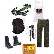 Zombie Hunter Costume Zombie Polyvore Zombie Hunter