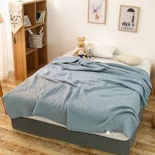 ou jeter un canapé grand plaid solide doux coton tricoté enfants bébé couverture lit