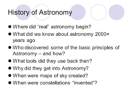 astronomy unit 1 history of astronomy basic concepts of astronomy