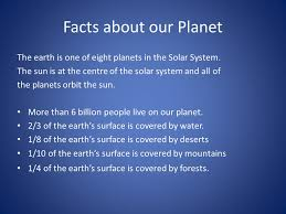 the earth ppt