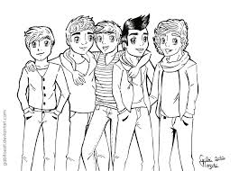 One Direction Pages Members News Of Printable Coloring We Are Printing Color Pages