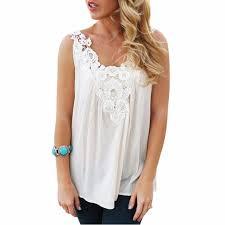 white lace blouses blouses chiffon white lace blouse for vest fashion