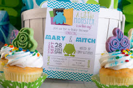 monsters inc baby shower ideas inc baby shower invitations theruntime