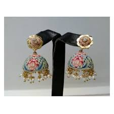 latkan earrings latkan earrings designer earrings alankrita kolkata id