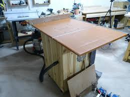 Plan De Table En Bois by Table De Scie Circulaire Homemade Table Saw