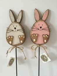 shabby chic rabbit ring holder images Sawdust sanitytallest one is 14 inches they are made from fence jpg