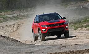 jeep rally car 2017 jeep compass in depth model review car and driver