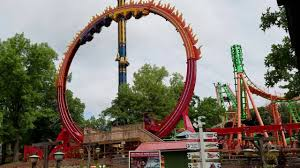 Six Flags St All New Fireball Ride At Six Flags St Louis 2016 Youtube