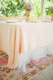 Wedding Linens The 25 Best Tulle Tablecloth Ideas On Pinterest Tulle Table