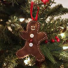 gingerbread ornaments at cloverhill