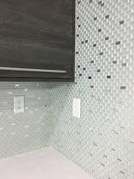 wall decor mirrored tile backsplash peel and stick tiles