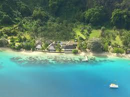 relais mahana huahine hotel tour operators aerial view