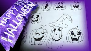 how to draw halloween pictures with pen 9 different kinds of