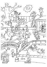 zoo coloring pages preschool zoo coloring pages awesome coloring pages of zoo animals for