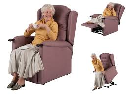 Electric Reclining Armchair Adjustable Electrically Operated Chairs From Theraposture