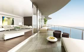 briliant idea modern balcony of contemporary glass railing house