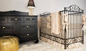 Black Baby Bed Bratt Decor Baby Neutral Furniture Collections
