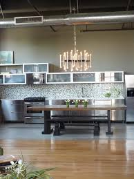 dream kitchen designs exquisite modern industrial kitchen design with chandelier lamps