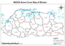 Himilayas Map Nasa Modis Environmental Data From Servir Himalaya To Help Bhutan