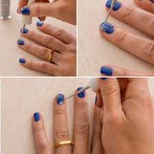 simple line nail art emsilog 25 simple nail art tutorials for