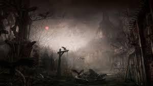 scary halloween borders dark creepy wallpapers desktop phone tablet awesome desktop