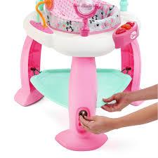 disney baby minnie mouse premier bounce u0026 bloom activity jumper