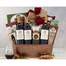 wine baskets wine basket and delivery 1st in flowers