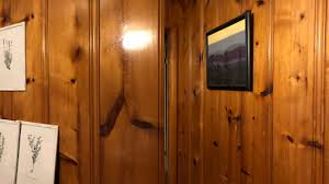 can you stain pine cabinets knotty pine how to restore orange paneling today s homeowner