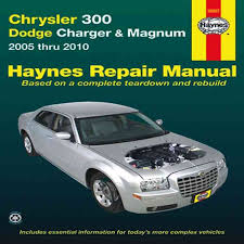 car repair manuals online free 1992 buick riviera lane departure warning chrysler 300 dodge charger magnum automotive repair manual