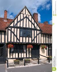 English Tudor Houses Old Tudor English House Royalty Free Stock Photo Image 2634585