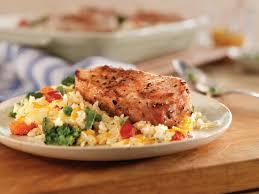 easy cheesy pork chop and rice casserole pork recipes pork be