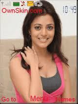 kajal name themes nisha agarwal mobile themes for nokia asha 203