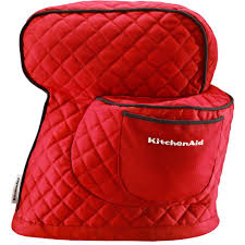 Kitechaid Kitchenaid Fitted Tilt Head Stand Mixer Cover In Empire Red